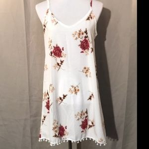 NEW I NORDSTROM FLORAL SHIFT DRESS